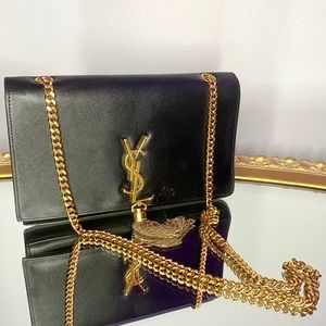 YSL Bag.(Medium YSL kate monogram bag with tassel)
